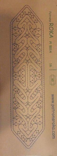 Punto lectura Bobbin Lace Patterns, Embroidery Patterns, Irish Crochet, Crochet Lace, Fabric Stiffener, Romanian Lace, Bobbin Lacemaking, Hairpin Lace, Point Lace