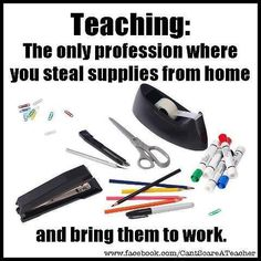 The Unique Thing About Being A Teacher - so true!