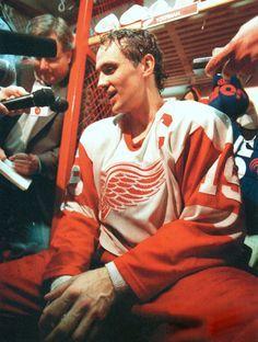 Oh Stevie.you make me giddy! Hockey Games, Hockey Mom, Ice Hockey, Nottingham Panthers, Steve Yzerman, Red Wings Hockey, Detroit Sports, Tampa Bay Lightning, Stevie Wonder