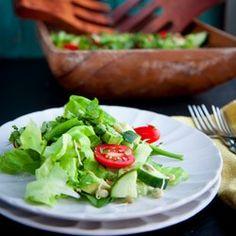 Living Salad with Sesame Dressing