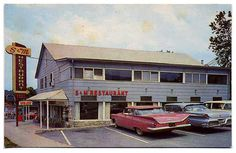 In Sevier Co.TN some decades ago! Gatlinburg Fire, Gatlinburg Restaurants, Gatlinburg Tennessee, Mountains In Tennessee, East Tennessee, Great Smoky Mountains, Cool Restaurant, Vintage Restaurant, Pigeon Forge Fire