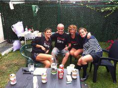 tras entrenamiento para media Maratón Bajo Pas agosto-2012