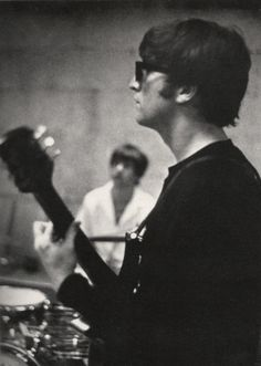 February 16, 1964: In Miami, rehearsing for the Ed Sullivan Show.