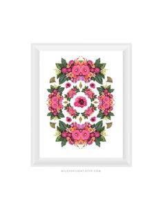 Floral Composition N2 8.5x11. Fine Art by MilesOfLight on Etsy