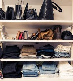 A girl can never have too many pairs of jeans.