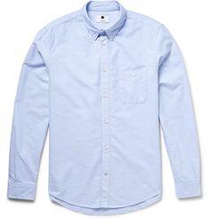 a9ec0dd3b675 NN.07 New Derek Slim-Fit Cotton Oxford Shirt (m) Casual Shirts