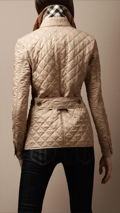 Cinched Waist Quilted Jacket | Burberry