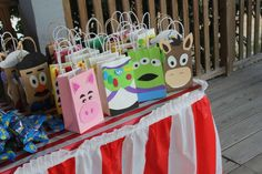 Favors from a Toy Story #toystoryparty  #favors