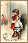A Very Merry Christmas with Children Vintage Ellen Clapsaddle cards for Christmas!  YAY!