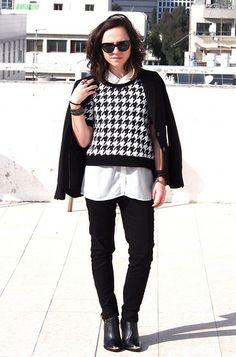 H&M Blazer, Zara Shirt, H&M Black Pants, H&M White Blouse