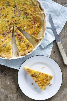 Quiche Lorraine, Quiche Recipes, High Tea, Quiches, A Food, Tapas, Pizza, Cheese, Baking