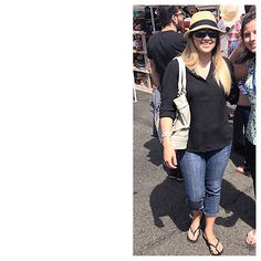 April 14, 2013- Carytown Beerfest What I Wore: Jeans- Refuge Blouse- Express Sandals- Rider