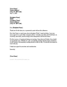 How To Get A Job Interview Thank You Letters Template Free Thank You