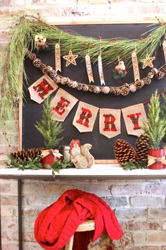 One Holiday Entry, Three Ways - see the same space, transformed for the holidays, in 3 different styles. This one is nature inspired. I found tons of amazing stuff for this shoot at @Pier1!