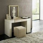 Rossetto Furniture - Diamond Dressing Table In Iovry - T426700000054