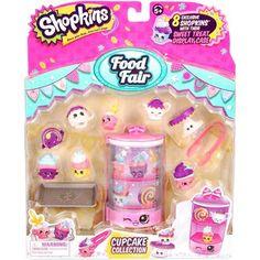 Moose Toys Shopkins Season 3 Food Fair Themed Packs Cupcake Collection - Walmart.com