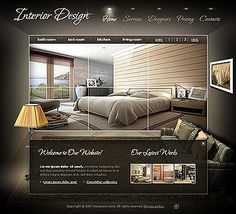 interior design website templates | interior design company ...