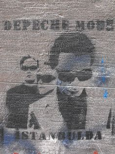 Depeche Mode / Taksim #istanbulsokak #duvarlaraozgurluk #istanbulstreetart #sokaksanatı #streetart #graffiti #stencil #wallart #mural #sticker #streetwriting #urban #urbanart #istanbul #beyoglu #kadikoy #besiktas #turkiye #art #depechemode #davegahan