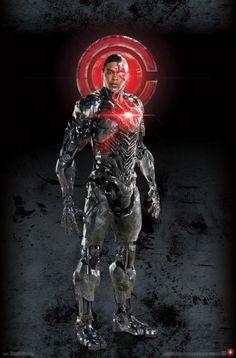Cyborg in Justice League, 2017 Cyborg Dc Comics, Dc Comics Heroes, Dc Comics Characters, Marvel Dc Comics, Justice League Characters, Superhero Characters, Marvel Heroes, Justice League 2017, Dc Movies