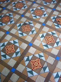 boissiere house verandah tiles by nicholaslaughlin, via Flickr Natural Fiber Rugs, Natural Area Rugs, Natural Rug, Carpet World, Hall Tiles, Discount Area Rugs, Natural Flooring, Cement Tiles, Style Tile