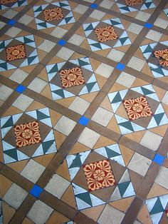 boissiere house verandah tiles by nicholaslaughlin, via Flickr