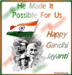 Gandhi Jayanti Wishes Images, Greetings, Gifs, Wallpapers Gandhi Jayanti Images, Gandhi Jayanti Wishes, Gandhi Jayanti Quotes, Mahatma Gandhi Jayanti, Happy Gandhi Jayanti, Photo Wallpaper, Wallpaper Quotes, Instagram Status, Happy New Year Images