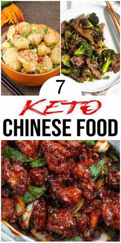 Chinese Dishes Recipes, Healthy Chinese Recipes, Chinese Chicken Recipes, Easy Healthy Recipes, Asian Recipes, Beef Recipes, Adkins Diet Recipes, Chinese Food Take Out, Low Carb Chinese Food