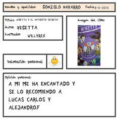 Una recomendación muy al estilo de Gonzalo ;-) Author, Reading, Book, Style