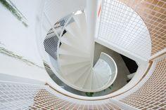 Nieuwbouw woning Strijp R door Broeren Das bouwbedrijf. Stairs steel