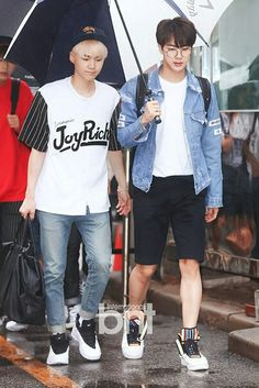 Suga*Jin По пути на Music Bank