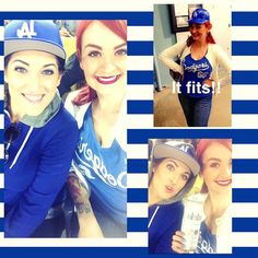 THINK BLUE: From last nights Dodger game! #Dodgers #ladodgers by maryannmua