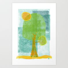 A Árvore do Sol - I Art Print Promoters - $12.48