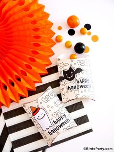 Les Printables Freebies d'Halloween!!