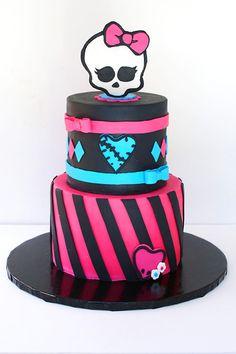 Monster High Cake Tutorial