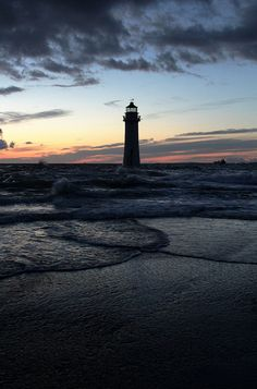 Dave Firth. New Brighton Sunset by David Firth Photo-Graphics, via Flickr
