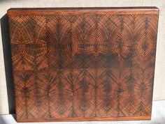 Cutting / Serving Board - End Grain Reclaimed Old Growth Pine by CuttingBoardpro on Etsy
