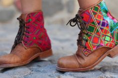 I'd love to get a pair of PEACE BOOTS from Teysha | Fair-trade customizable…