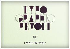 typographic revolt