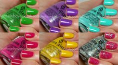 Let them have Polish!: China Glaze Electropop Collection- The Brights