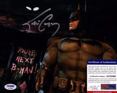 "Kevin Conroy Signed ""Batman"" 8x10 Photo PSA/DNA #AC32860"
