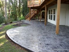 Stamped Concrete Photo Gallery Portland Oregon - Patios | Driveways | Pool Decks | Concrete Fire Pits & Fireplaces