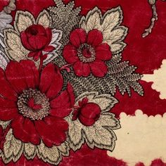 Antique French Textile Limited Edition Print