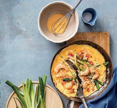 Omeleta s krevetami / Zdroj: Ondřekj Košík