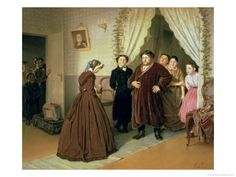 The Governess Arriving at the Merchants House, 1866