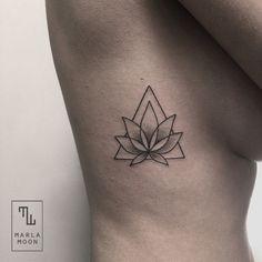 Kritzelei Tattoo, Weed Tattoo, Doodle Tattoo, Lotus Tattoo, Get A Tattoo, Flower Tattoo Designs, Tattoo Designs For Women, Tattoos For Women, Tattoos Mandala