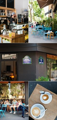 Where to have good coffee in Paris, by Alice Gao of lingered upon. Kooka Boora