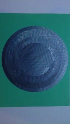 la imagen muestra cortes circulares dandole otro efecto a la figura
