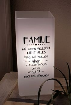 Holzwurm - creative for home and garden - lamps / light spectacle - bilder dekoration Bedroom Murals, Garden Lamps, Rustic Gardens, Home Decor Signs, Lamp Light, Letter Board, About Me Blog, Home And Garden, Words
