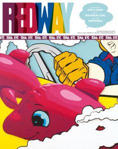 Nationwide school magazine in Czech Republic. Cover art Pasta Oner