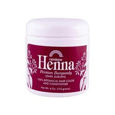 Rainbow Research Henna Hair Color And Conditioner Persian Burgundy Dar – Humble + Lavi
